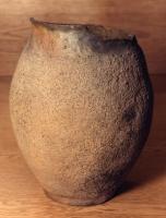 Urne aus Brandgrab, Fundort Heidenfelde bei Heddersheim, römische Zeit